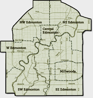 Edmonton Tutoring Map