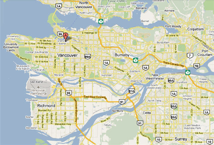 Vancouver Tutoring Map